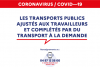offre transport metropole confinement covid